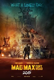 Max Max: Fury Road movie poster